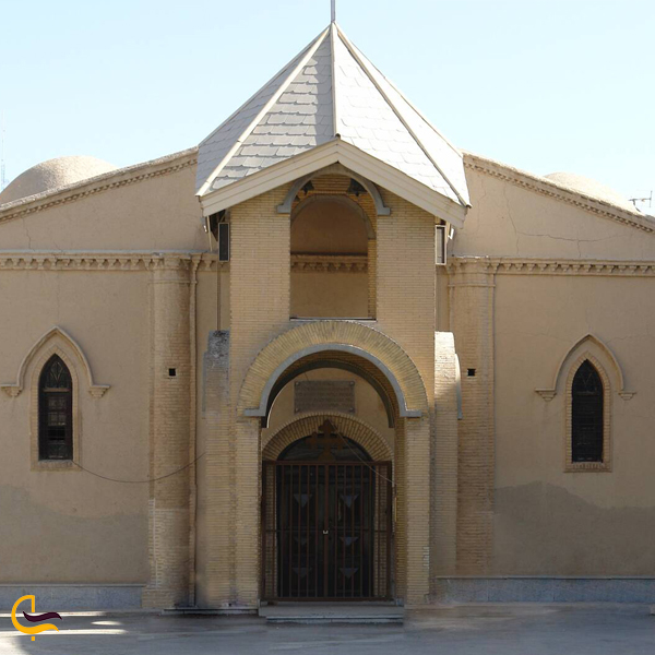 تصویری از کلیسا مسروپ مقدس اراک