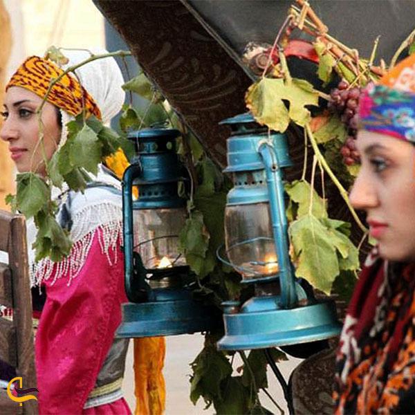 نمایی دیگر از آداب و رسوم در آذربایجان شرقی