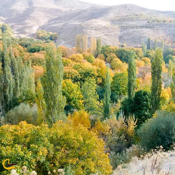 تصویری از طبیعت روستاهای اسفراین