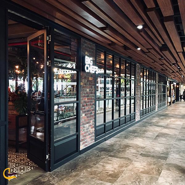 نمای بیرونی رستوران بیگ شف استانبول
