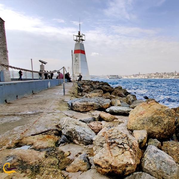 نمایی از برج دختر استانبول