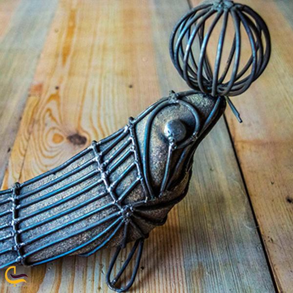تصویری از چلنگری هنر های شکل دادن به فلز دامغان