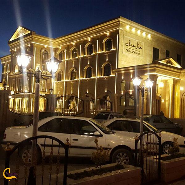 نمایی از هتل هیلان