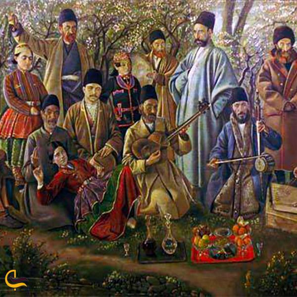 نمایی از تاریخچه سیزده بدر