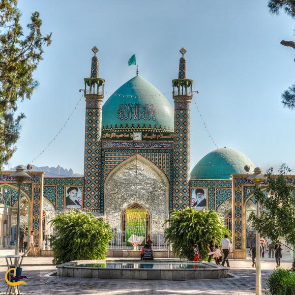 تصویری از امازاده سید حمزه کاشمر
