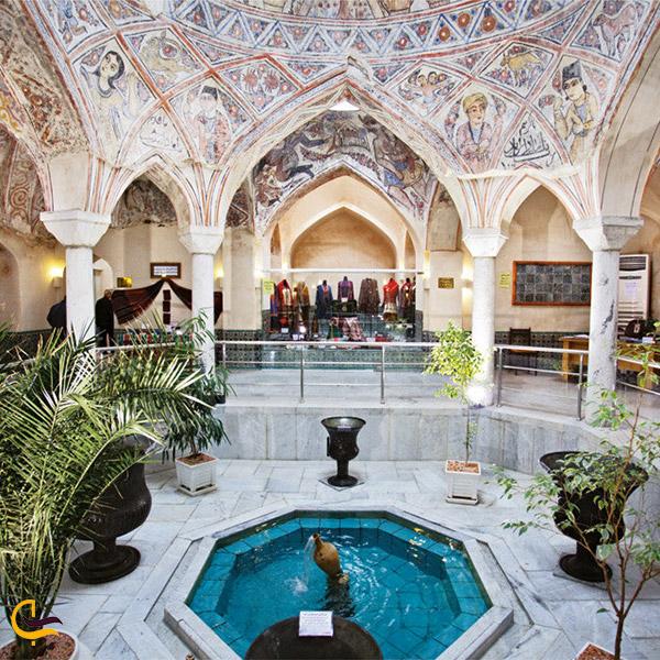 نمایی از فضای داخلی موزه آب