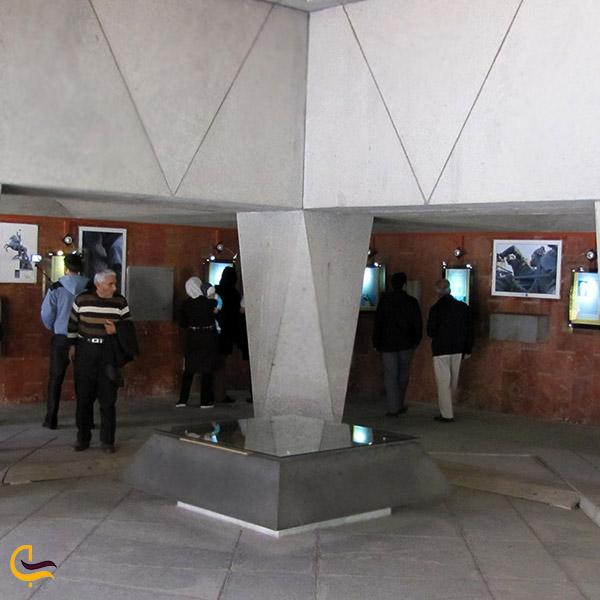 نمایی از فضای داخلی باغ موزه نادری مشهد