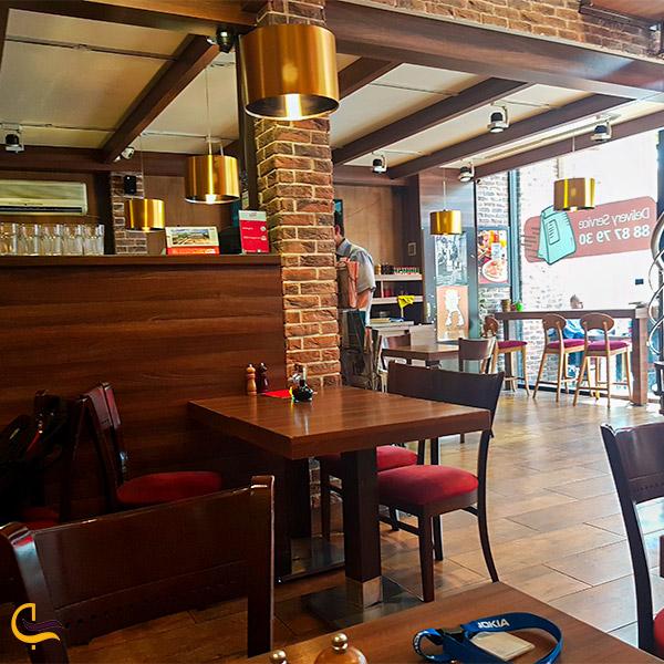 نمای داخلی رستوران لانجین