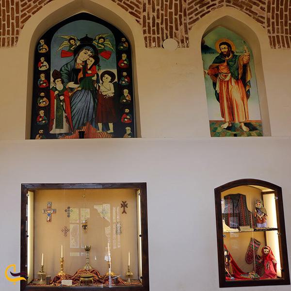 تصویر نمای داخل کلیسای سنت استپانوس جلفا