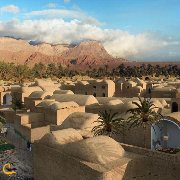 نمایی از روستای اصفهک