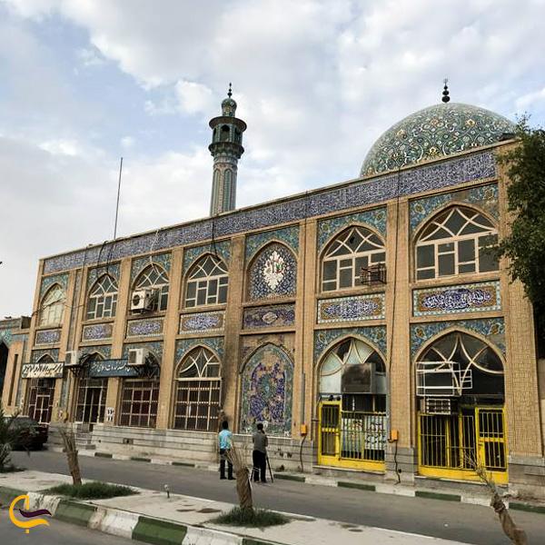 تصویری از مسجد جامع خرمشهر