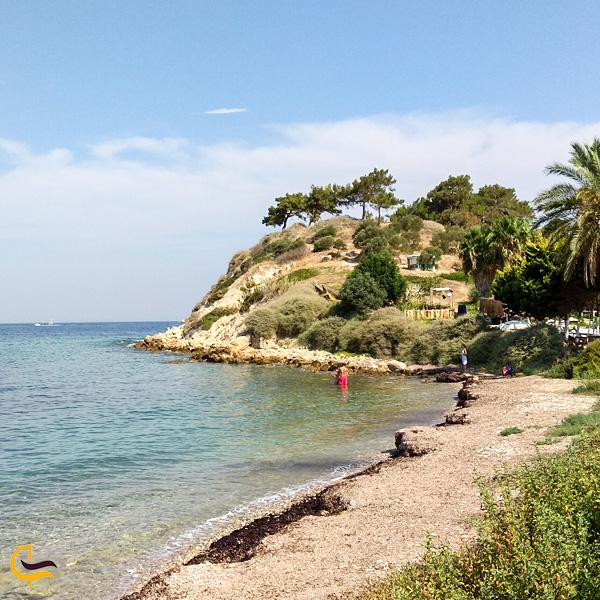 تصویری از ساحل زیبا کوش اداسی