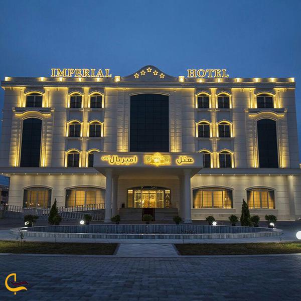 لیست هتل های جلفا و تصویر هتل امپریال جلفا