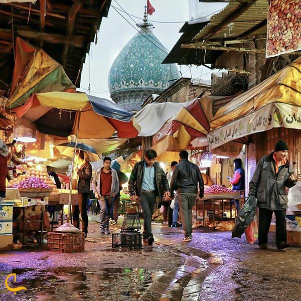 بازار محلی و سنتی شهر کازرون