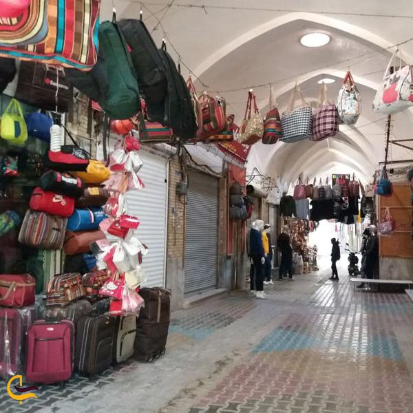 تصویری از مغازه های بازار سمنان
