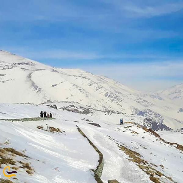 نمایی از کوهنوردی توچال