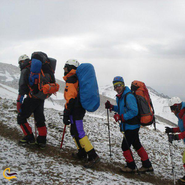 تصویری از کوهنوردی توچال