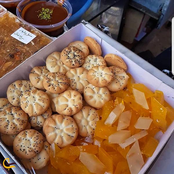 کلوچه مسقطی سوغات شیراز