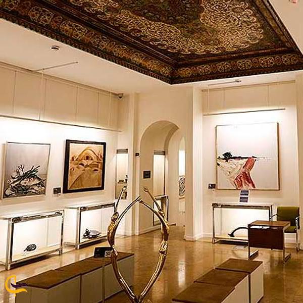 نمایی از موزه جهان نما کاخ نیاوران