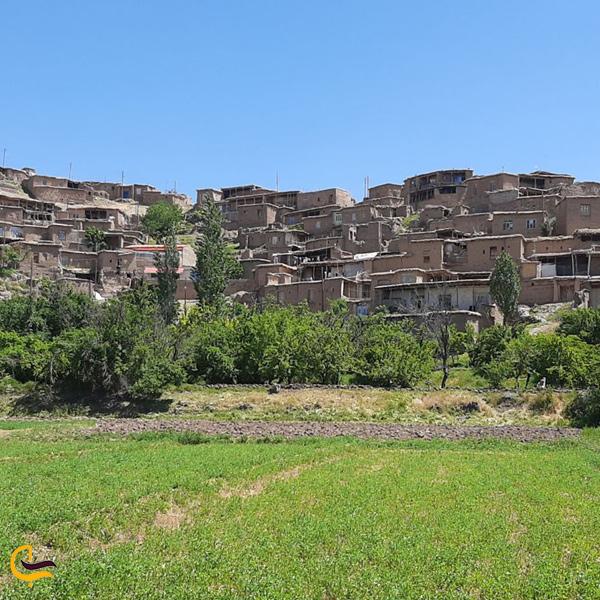 تصویری از طبیعت روستای نامق کاشمر