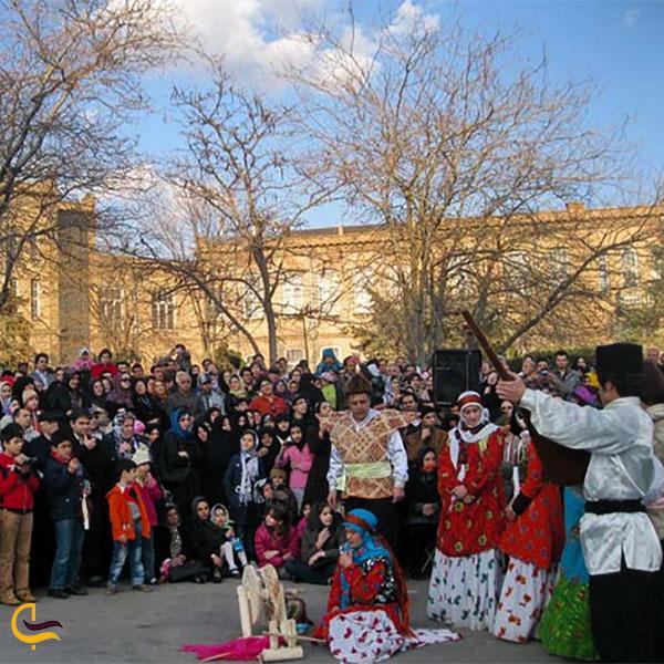 نمایی از آداب و رسوم نوروز در آذربایجان شرقی