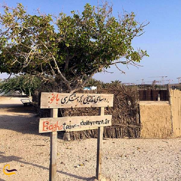 نمایی از روستای کهن باغو