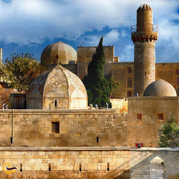 تصویری از کاخ شیروانشاهان باکو