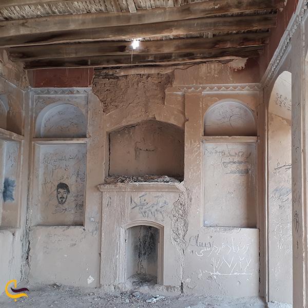 تصویری از داخل خانه حکیم ابوالقاسم فردوسی روستا پاژ