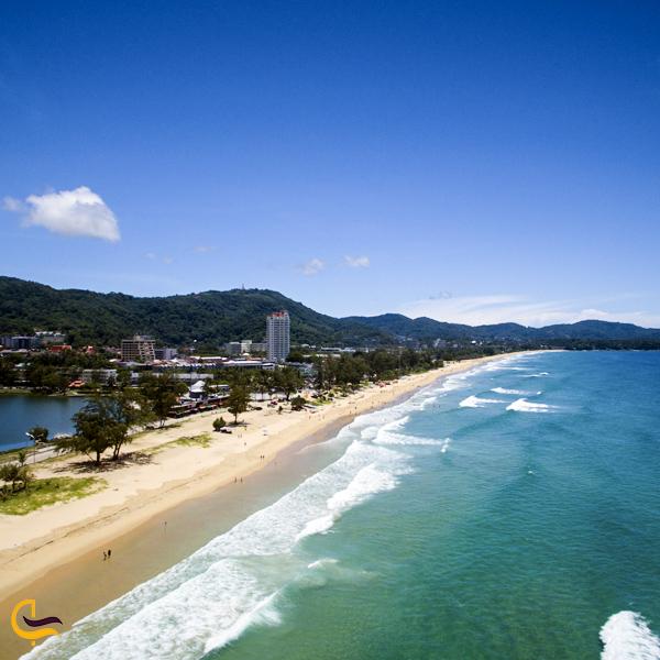 تصویری از ساحل پوکت