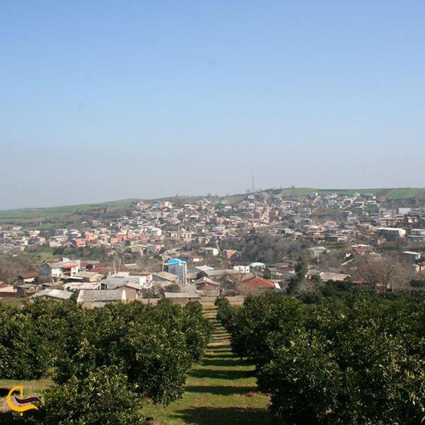 روستای قلعه سر از توابع شهرستان نکا
