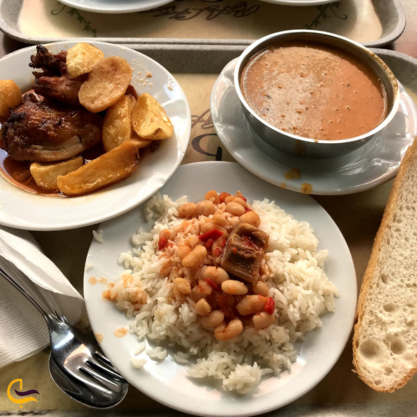 تصویری از غذای رستوران بالکان لوکانتاسی استانبول
