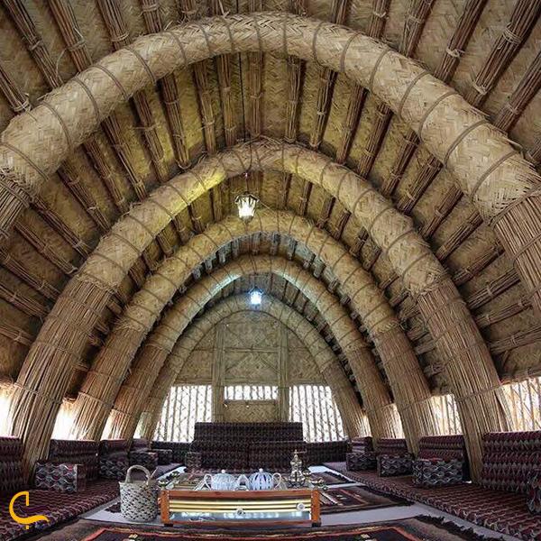 تصویری از داخل رستوران مضیف حاج عبدالله خرمشهر