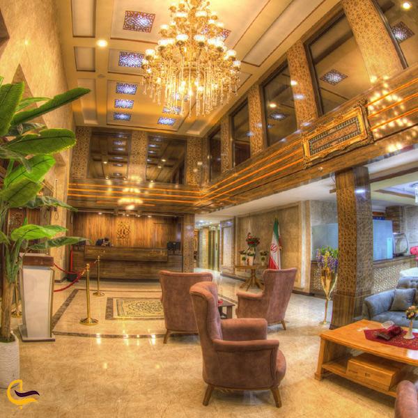 تصویری از لابی هتل اروند خرمشهر