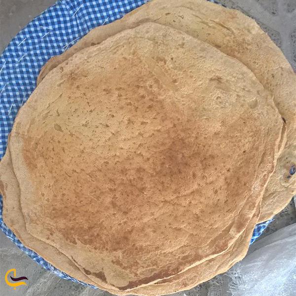نان ساجی نان مخصوص ایلام
