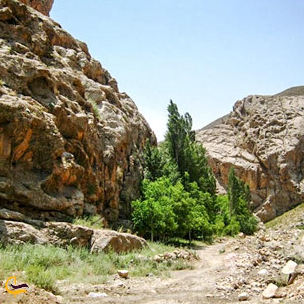 نمایی از طبیعت پارک ملی سالوک اسفراین