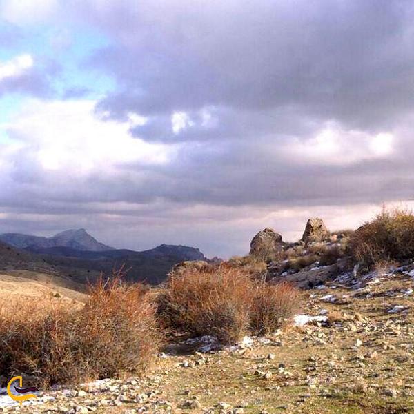تصویری از طبیعت پارک ملی سالوک اسفراین