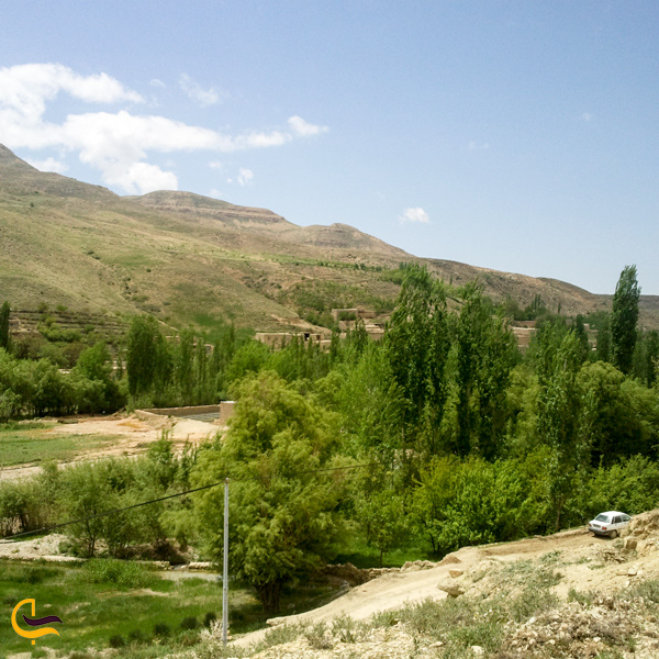 تصویری از طبیعت زیبا روستای سرچشمه اسفراین