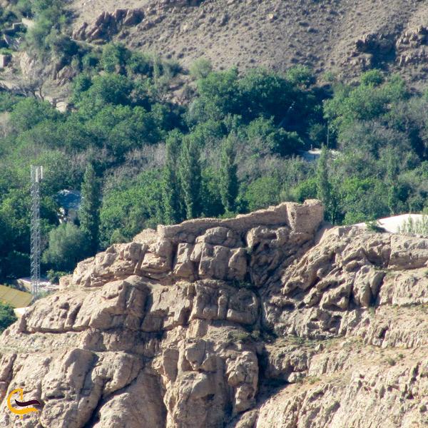 نمایی از طبیعت سرسبز شهر شهمیرزاد سمنان