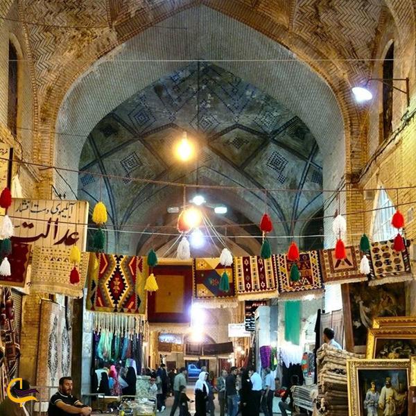 مغازه های چهارسوق بازار وکیل شیراز