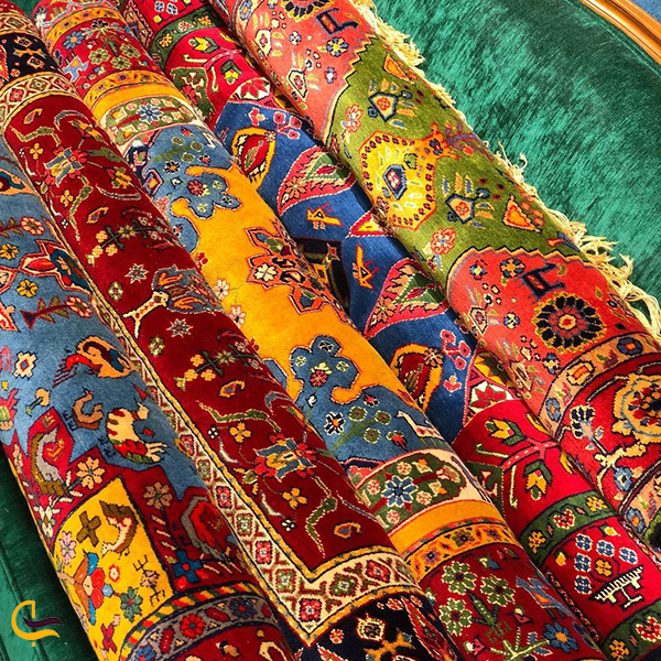 فرش گلیم سنتی شیرازی