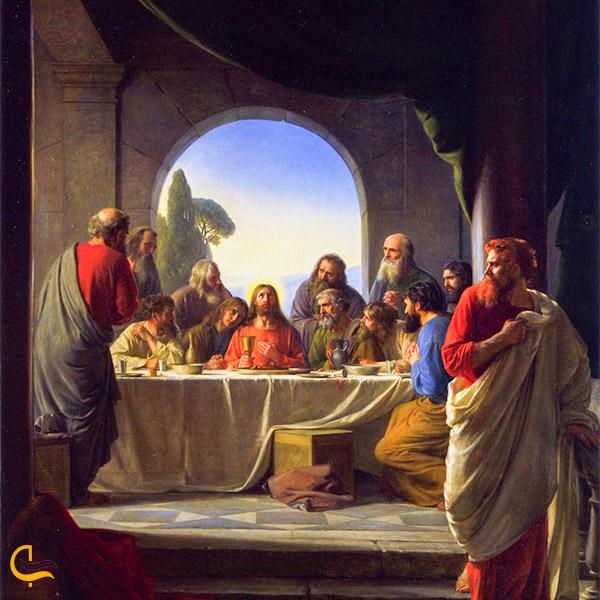 نمایی از داستان یهودای اسخر و مصلوب شدن حضرت مسیح