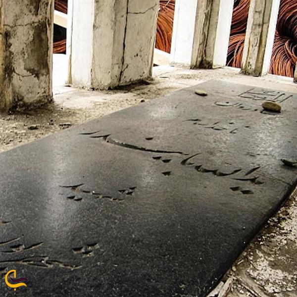 تصویری از قبر شهید دریادار بایندر در خرمشهر