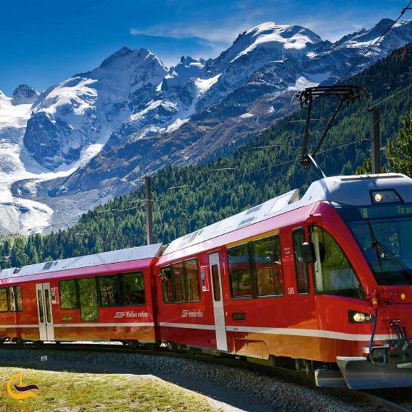 نمایی از سفر با قطار به ترکیه