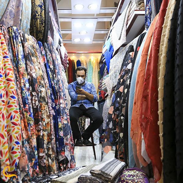 پارچه فروشان بازار وکیل شیراز