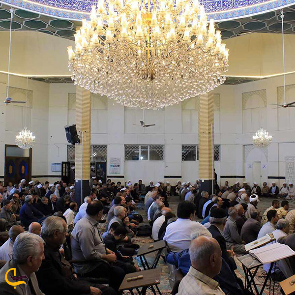 نمای داخل مسجد اعظم ارومیه