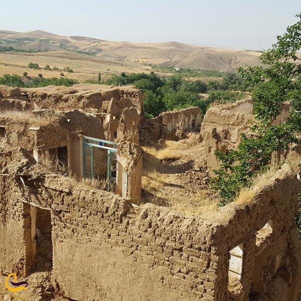 تصویری از خانه باستانی روستای دره صیدی بروجرد