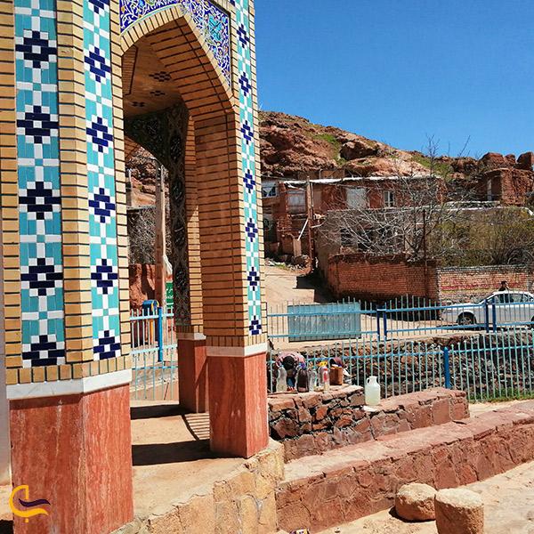 تصویری از روستای دهسرخ مشهد