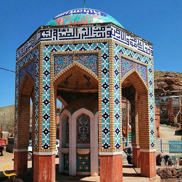 نمایی از روستای دهسرخ مشهد