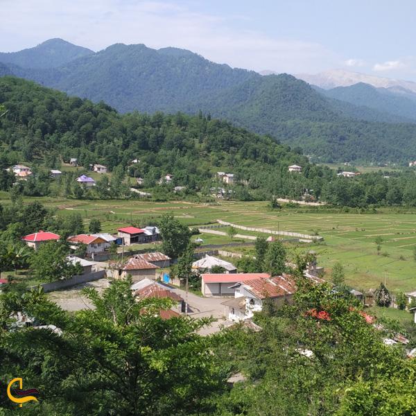 نمایی از روستای گسکره فومن
