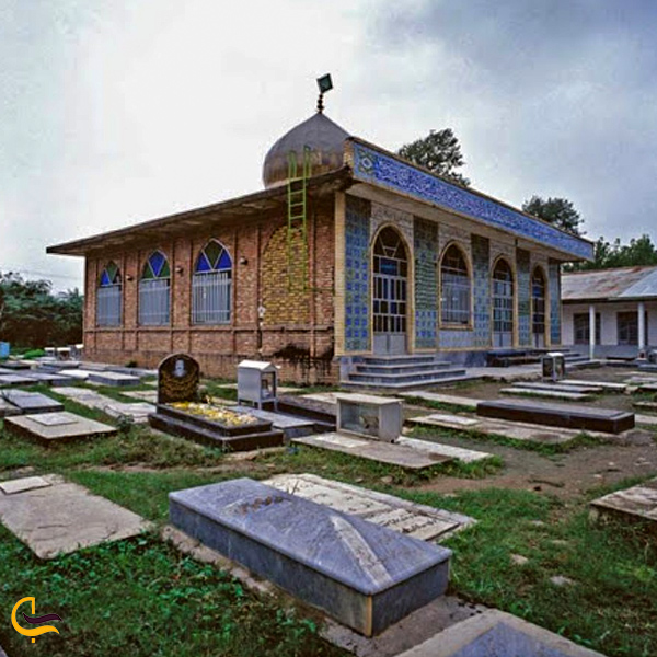 تصویری از امام زاده در روستای کلرم فومن